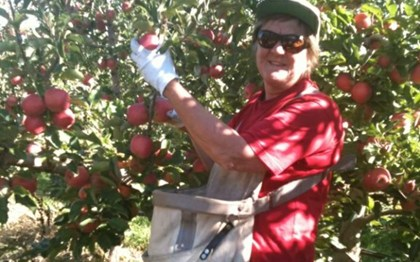 Orchardist Maria Brown-Shepherd