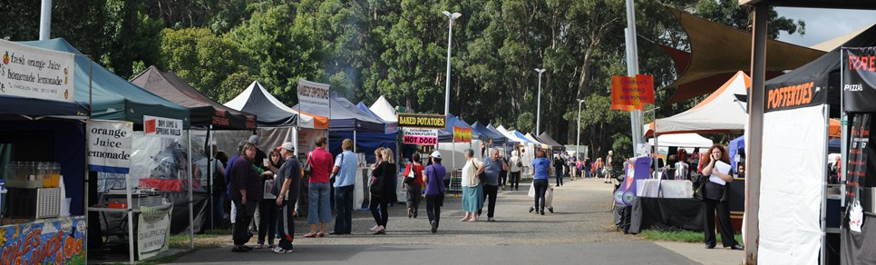 A Day Out at Lardner Park Market