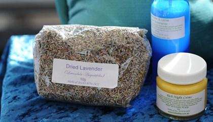 Fresh dried herbs & skin care