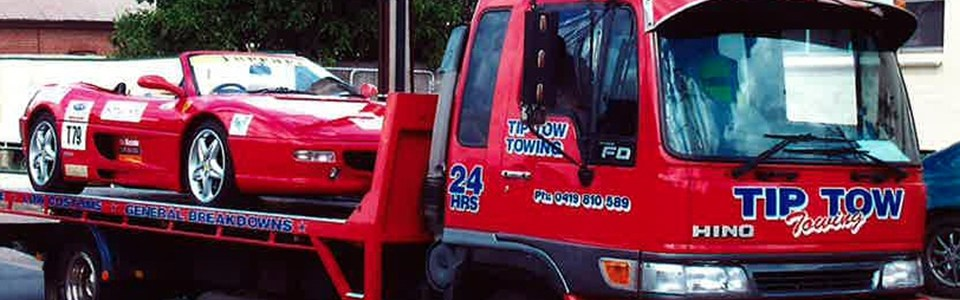 Welcome to Tip Tow Towing - Adelaide - 0419 810 589