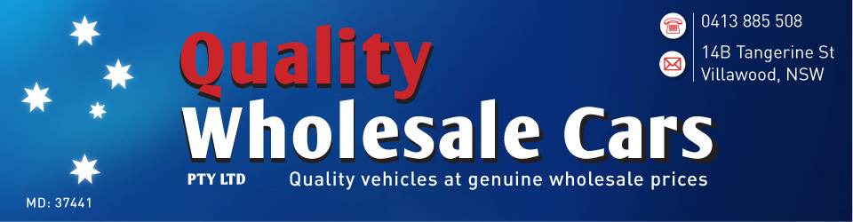Logo for Quality Wholesale Cars - Villawood - 0413 885 508