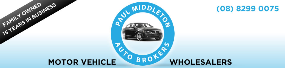 Logo for Paul Middleton Auto Brokers - St Mary - 08 8299 0075