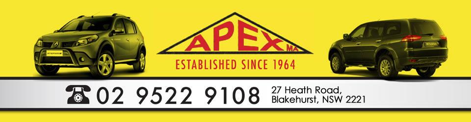 Logo for Apex Motors - Blakehurst - (02) 9522 9108
