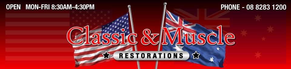 Classic and Muscle Restorations - Salisbury Plain - 08 8283 1200
