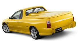 yellow ute
