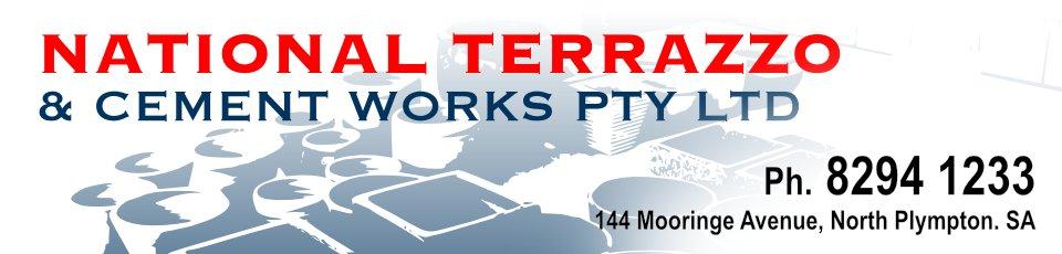 Logo for National Terrazzo - North Plympton - 08 8294 1233