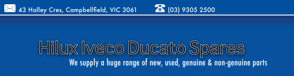 Logo for Hilux Iveco Ducato Spares - Campbellfield - 03 9305 2500