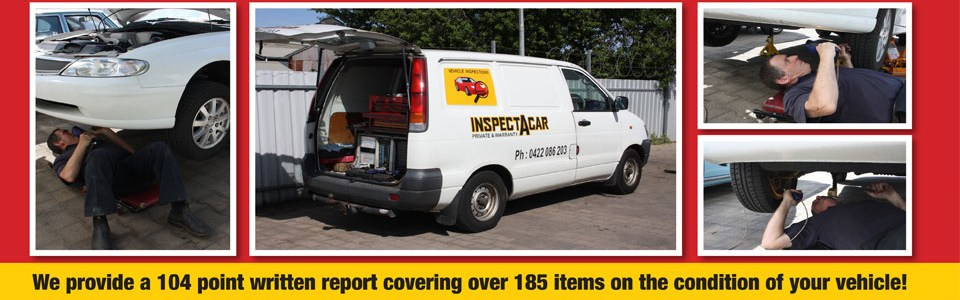 Welcome to Inspectacar - Wynn Vale - 0422 086 203