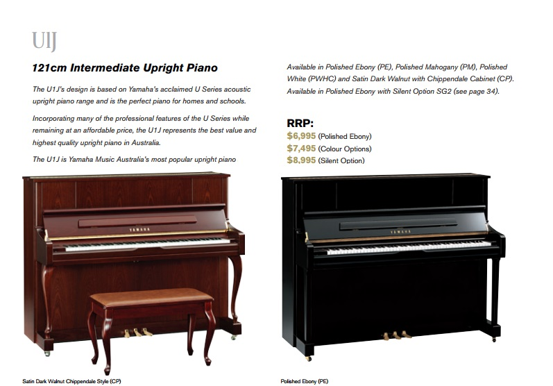 Upright pianos yamaha alex steinbach prestige pianos for What are the dimensions of an upright piano
