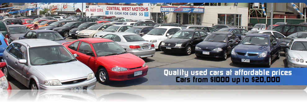 Home   Central West Motors   West Footscray   (03) 9689 5595