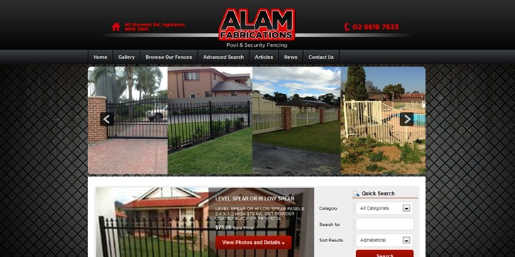 New Website Launched for Alam Fabrications!