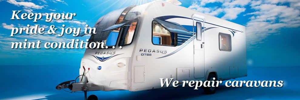 We repair caravans