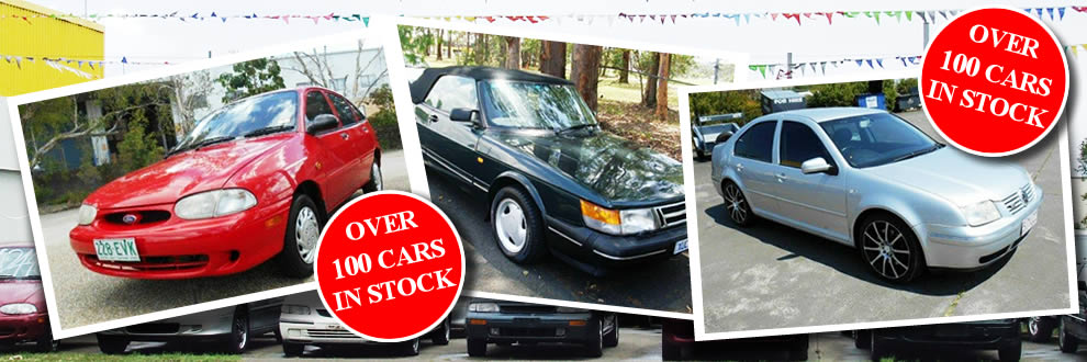 Over 100 cars in Stock