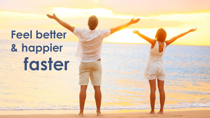 Be fitter and happier faster