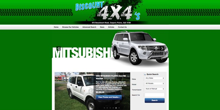 New Website Launched for Discount 4x4's!
