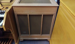Hammond C-3 Console Organ PR40 and Leslie 122RV Speaker tone Cabinet