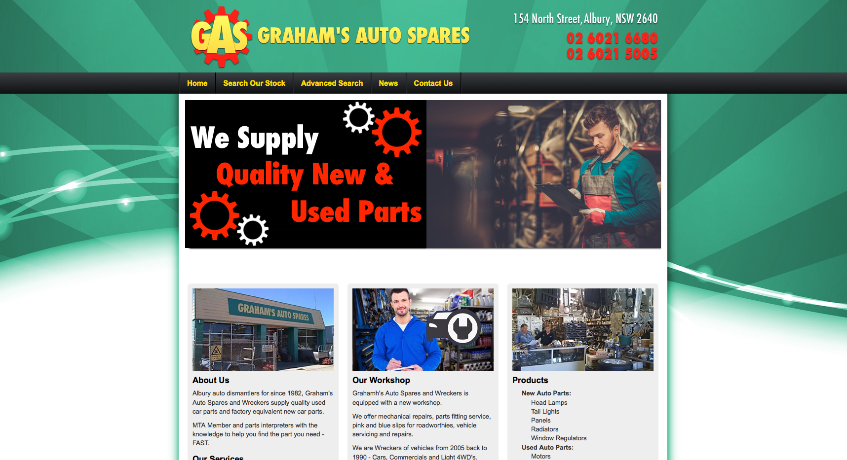 New Website Launched for Graham's Autos!