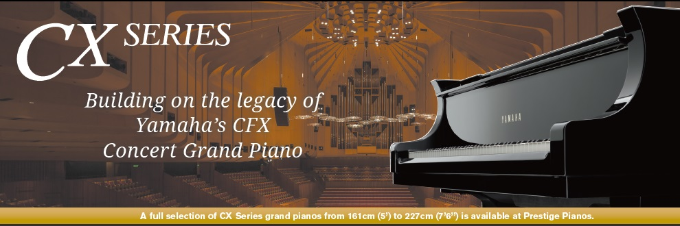 Prestige Pianos & Organs, Yamaha Piano CX Series Grand