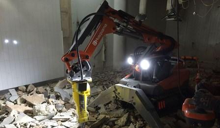 Demolition Robots Nibbler Adelaide