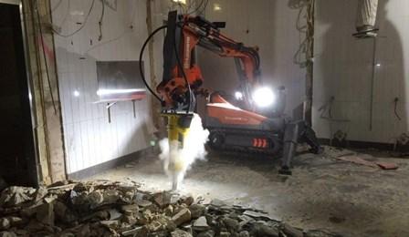 Robotic Demolition Nibbler Adelaide