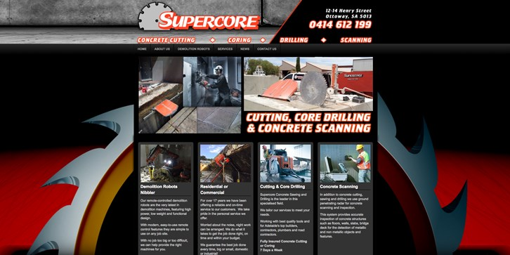 New Website Launched for Supercore!