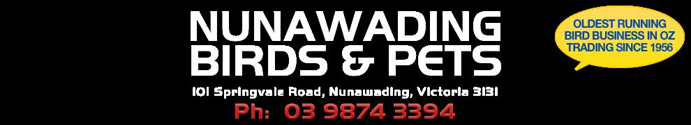 Nunawading Birds & Pets