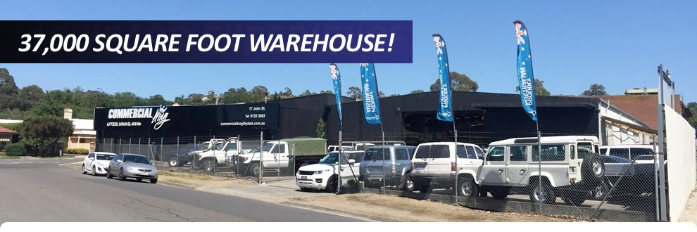 Commercial King Lilydale - yard