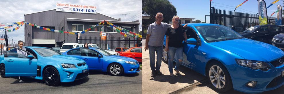 Grieve Parade Motors testimonials