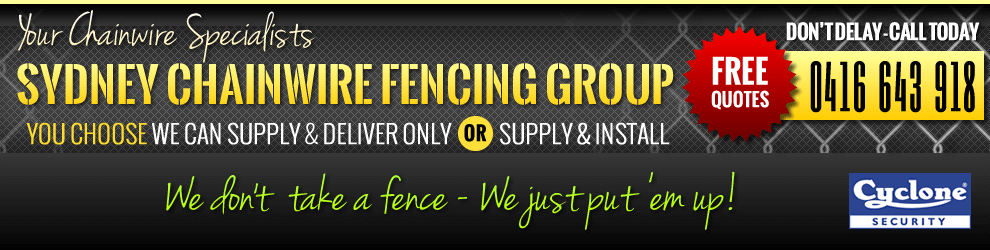 Sydney Chainwire Fencing Group