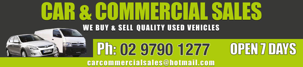 Car and Commercial Sales