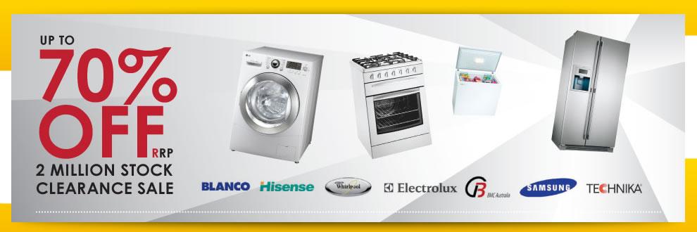 second hand appliances